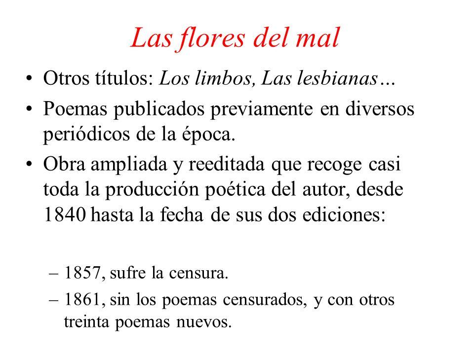 Las flores del mal Otros títulos: Los limbos, Las lesbianas…