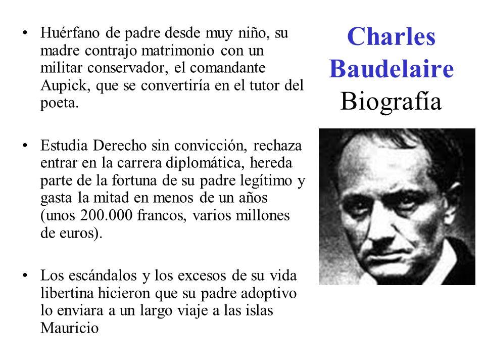Charles Baudelaire Biografía