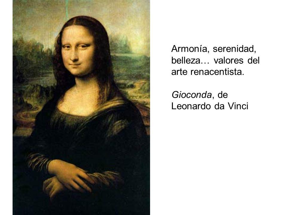 Armonía, serenidad, belleza… valores del arte renacentista
