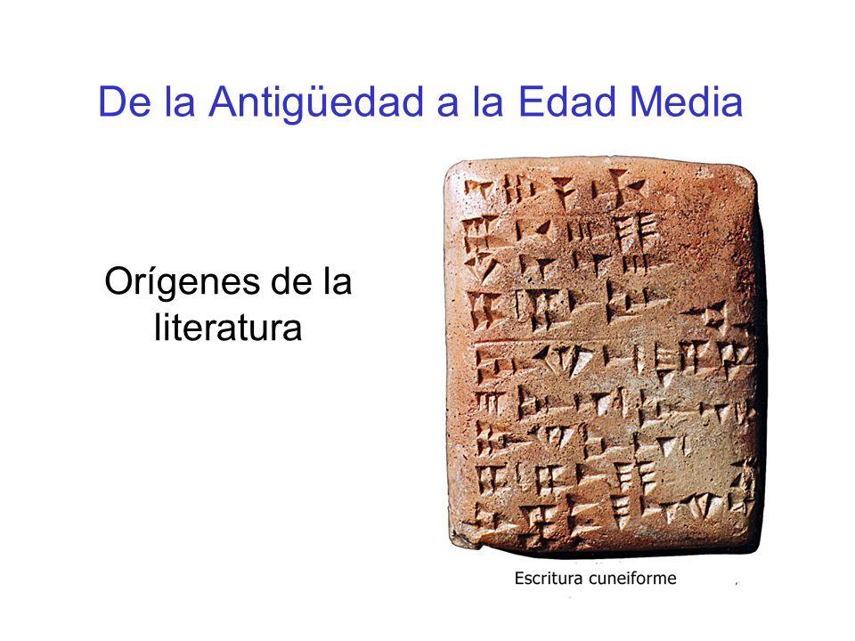 De la Antigüedad a la Edad Media