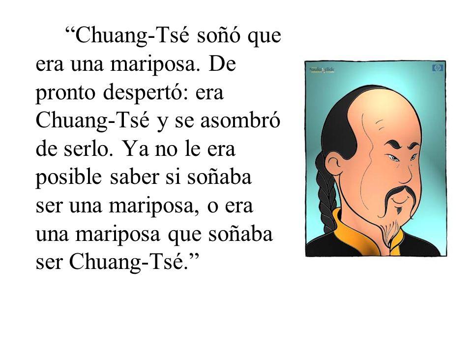 Chuang-Tsé soñó que era una mariposa