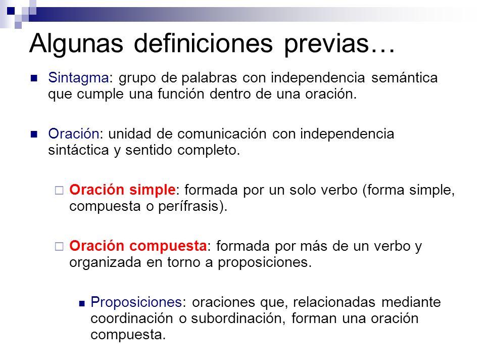 Algunas definiciones previas…