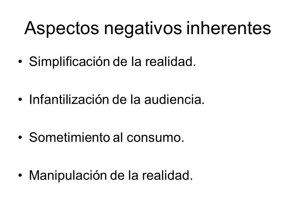 Aspectos negativos inherentes