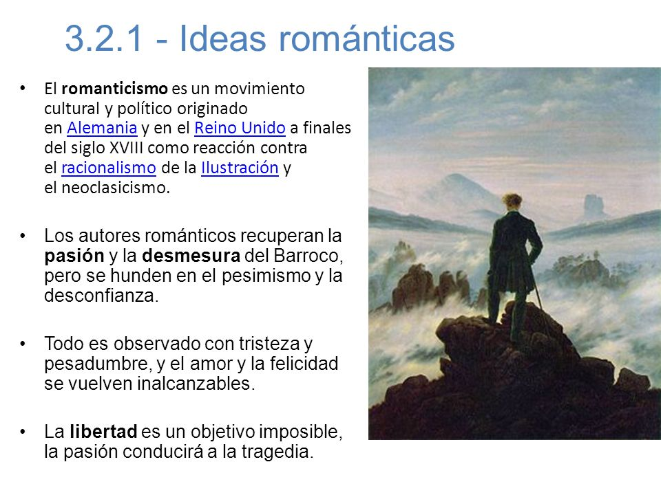 3.2.1 - Ideas románticas