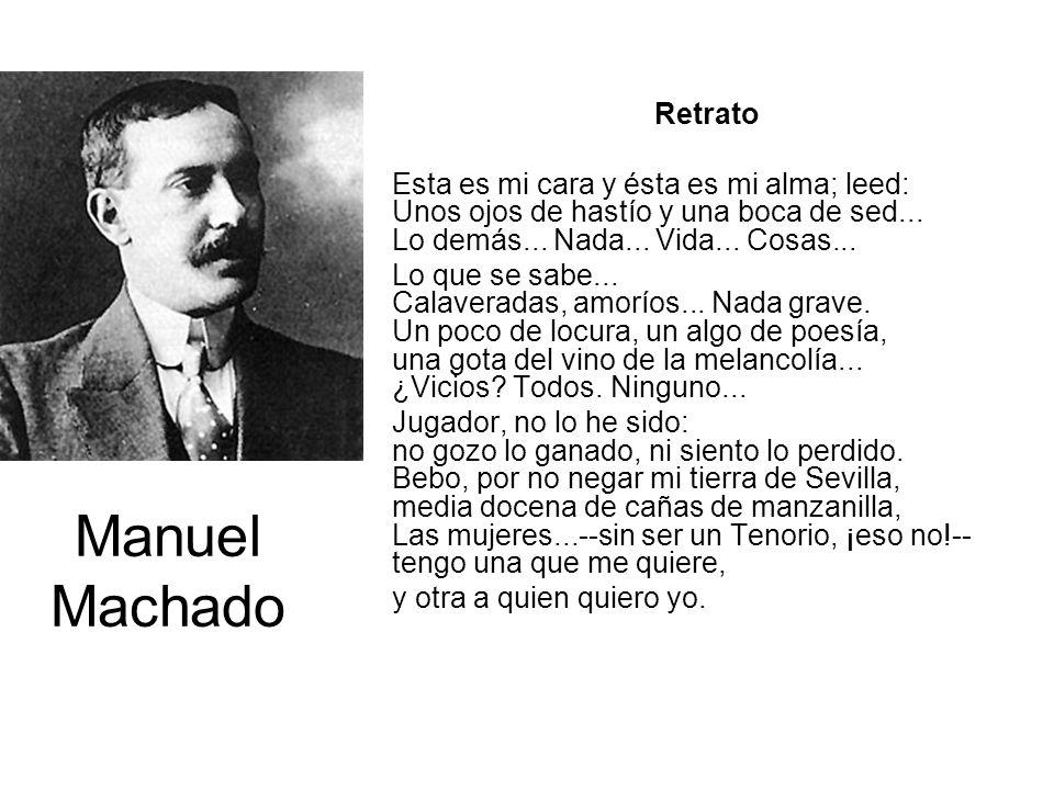 Manuel Machado Retrato