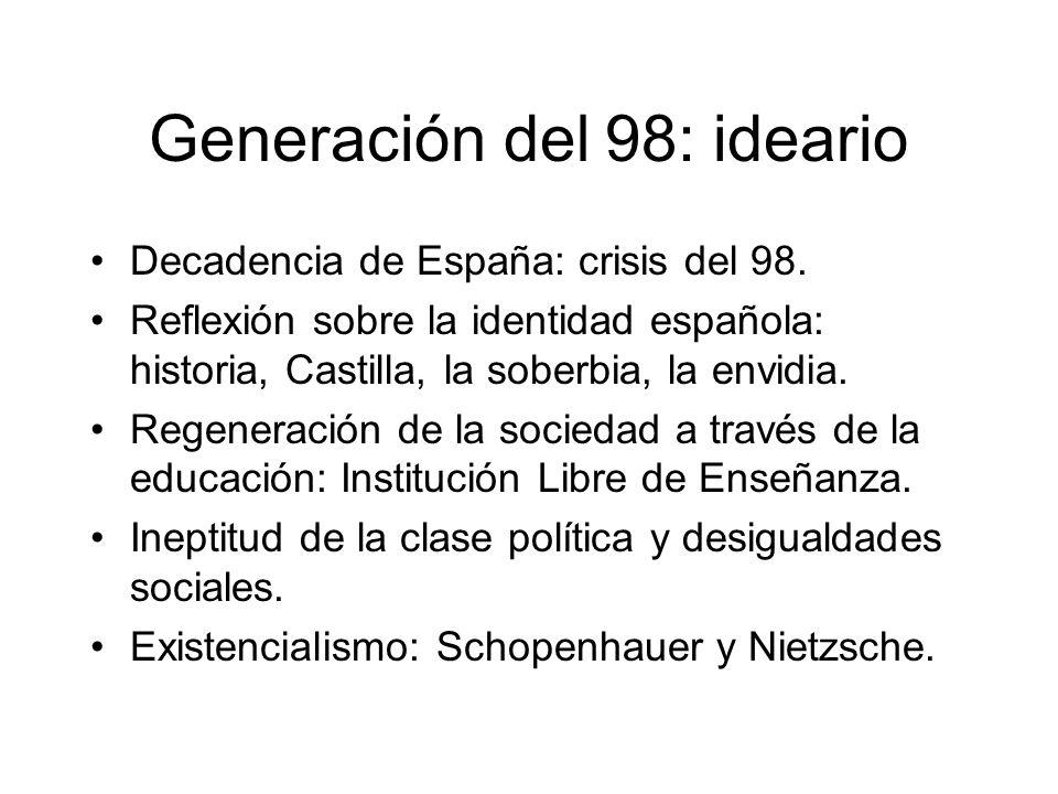 Generación del 98: ideario