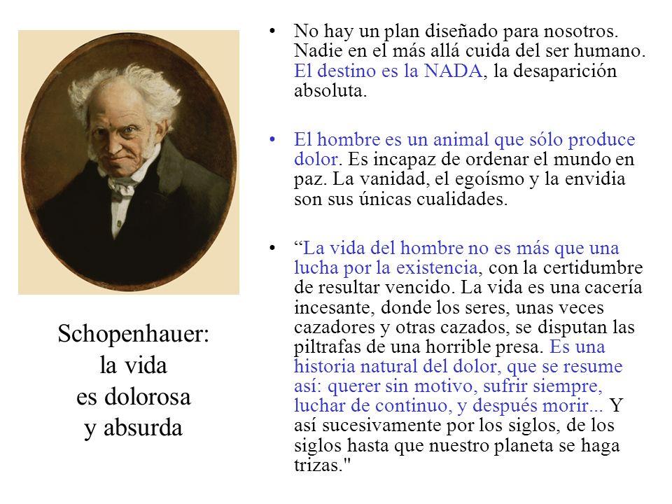 Schopenhauer: la vida es dolorosa y absurda