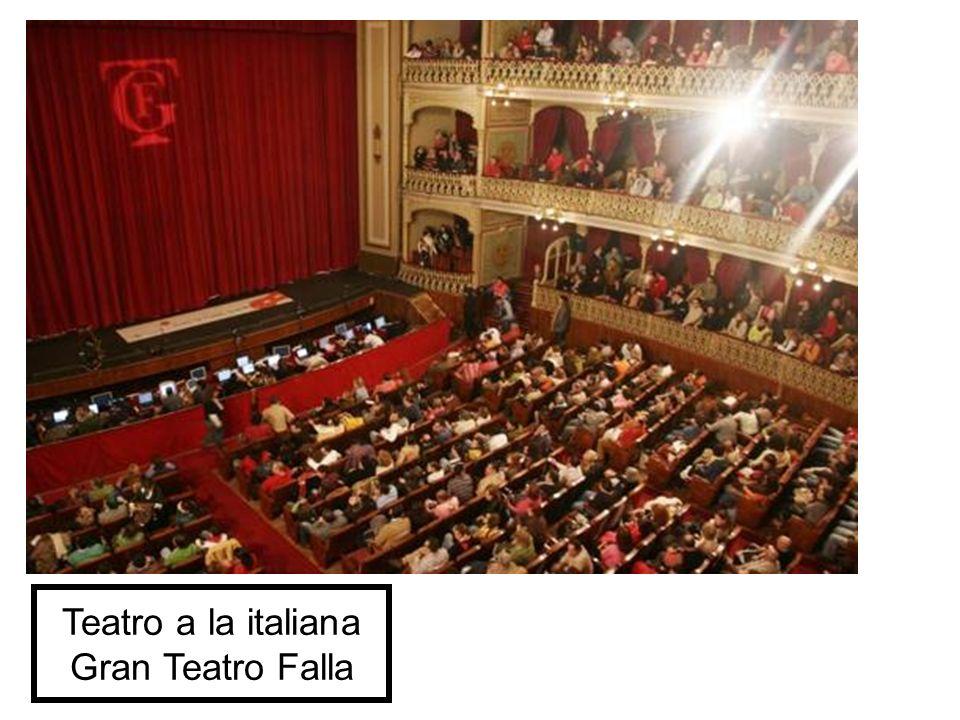 Teatro a la italiana Gran Teatro Falla