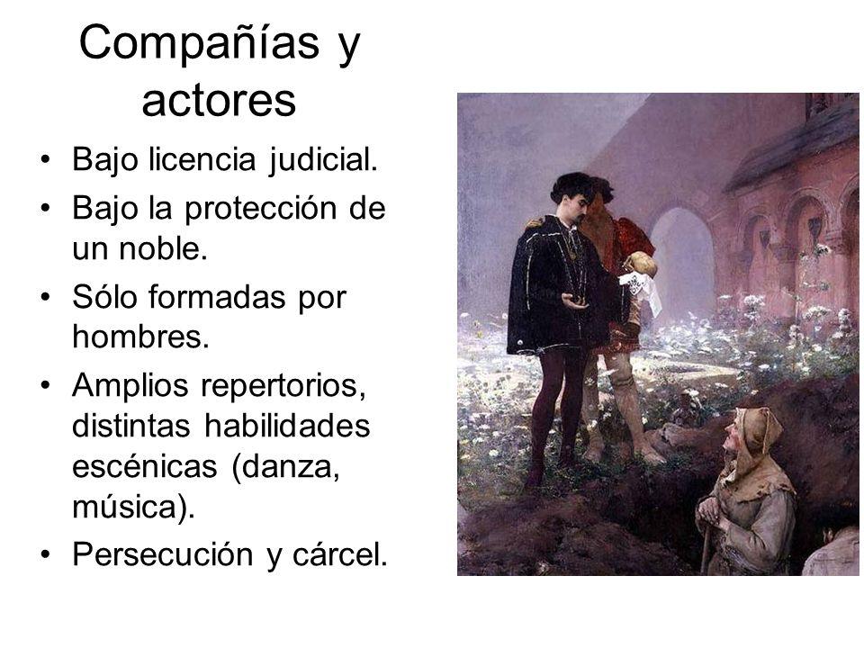 Compañías y actores Bajo licencia judicial.