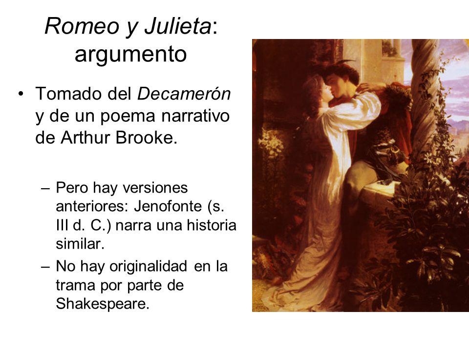 Romeo y Julieta: argumento