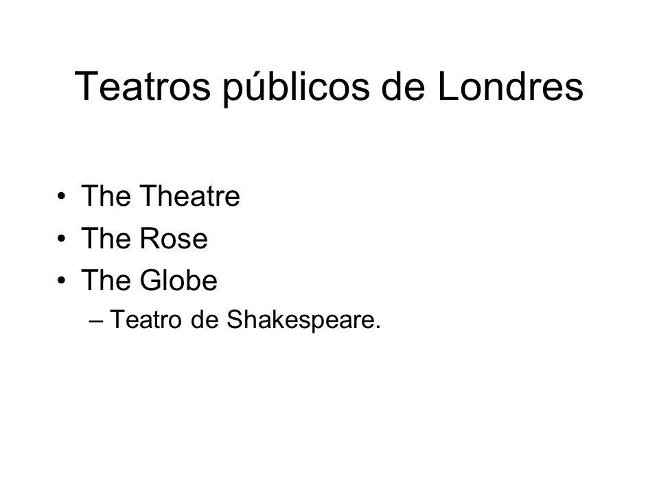 Teatros públicos de Londres