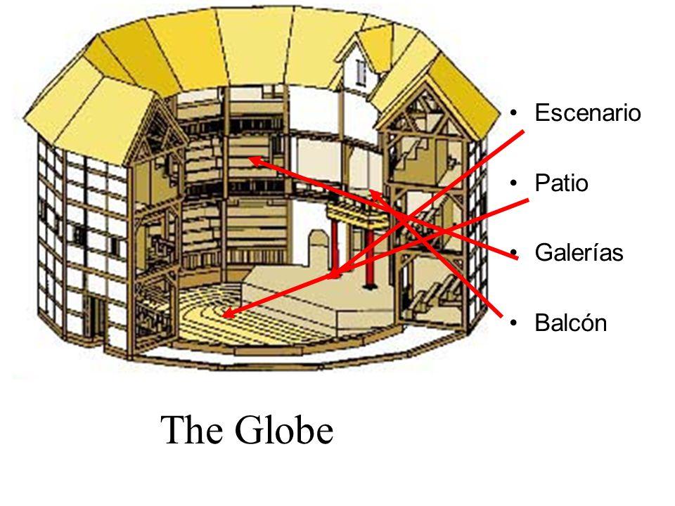 Escenario Patio Galerías Balcón The Globe