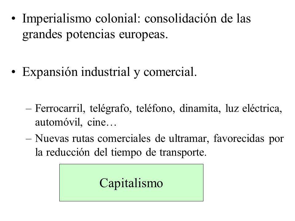 Expansión industrial y comercial.