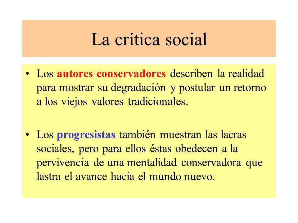 La crítica social