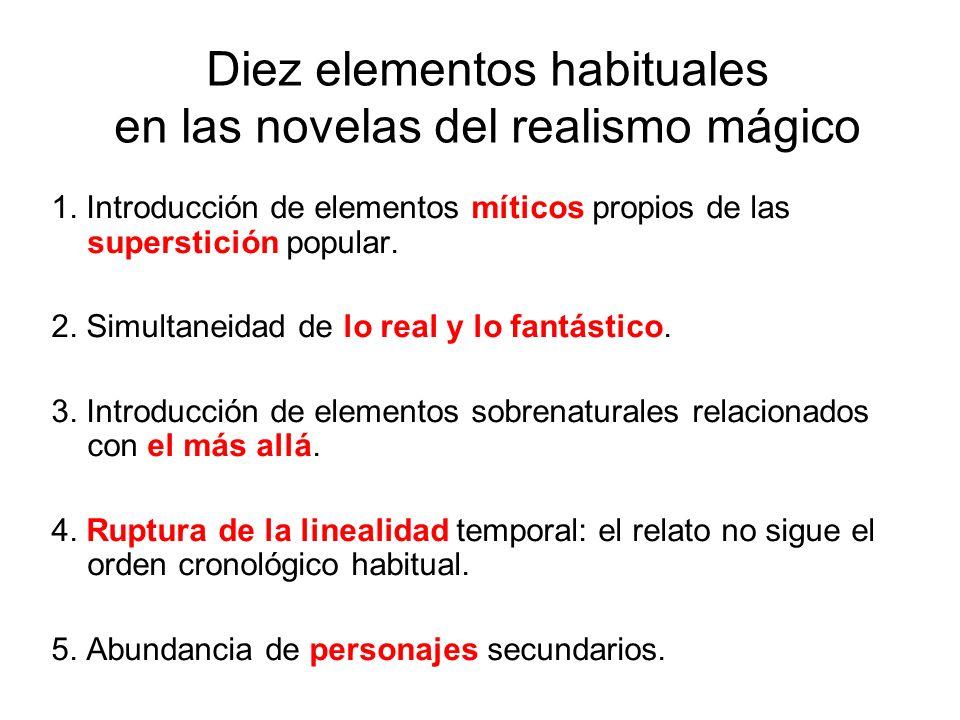 Diez elementos habituales en las novelas del realismo mágico