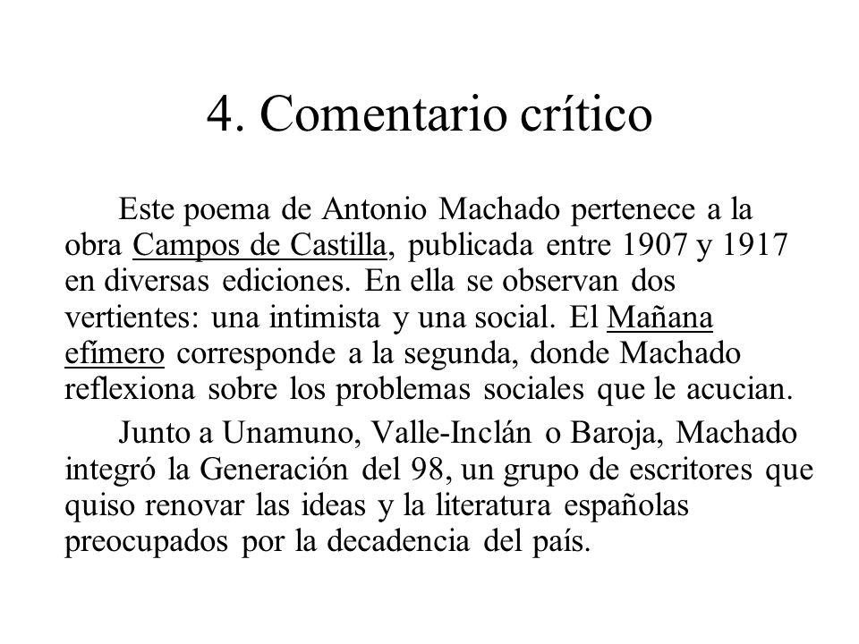 4. Comentario crítico