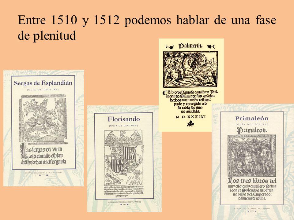 Entre 1510 y 1512 podemos hablar de una fase de plenitud