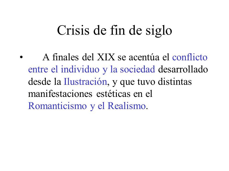 Crisis de fin de siglo