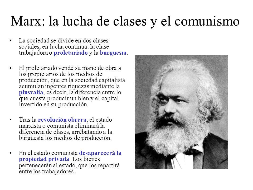 Marx: la lucha de clases y el comunismo