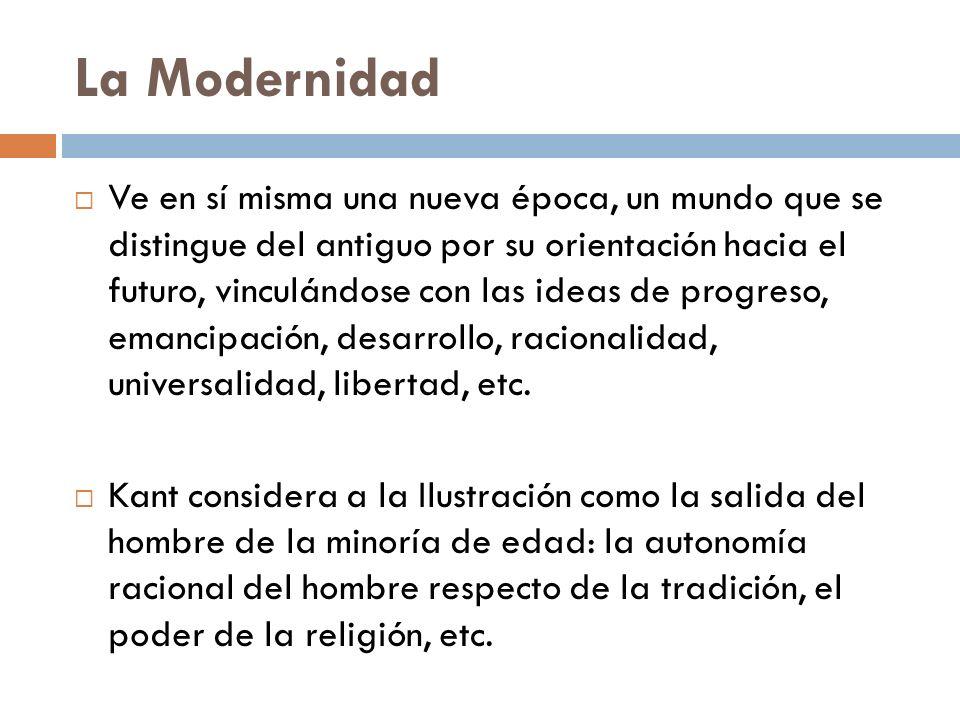 La Modernidad