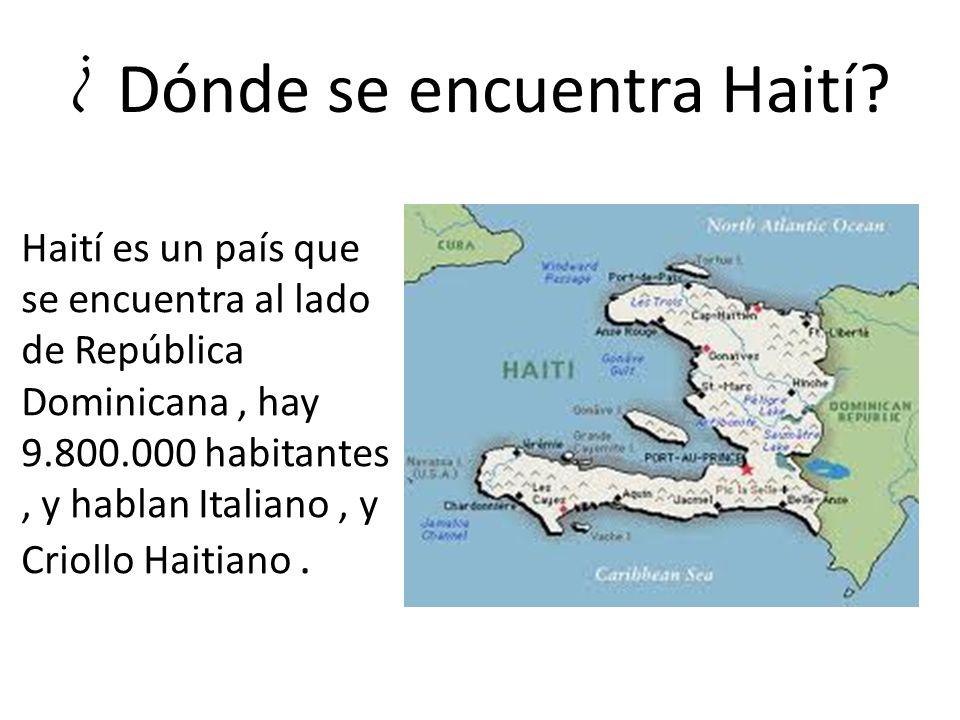 ¿ Dónde se encuentra Haití