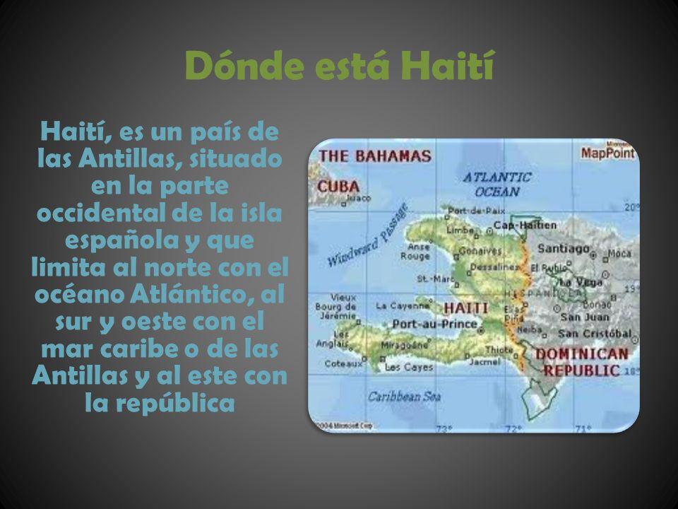 Dónde está Haití