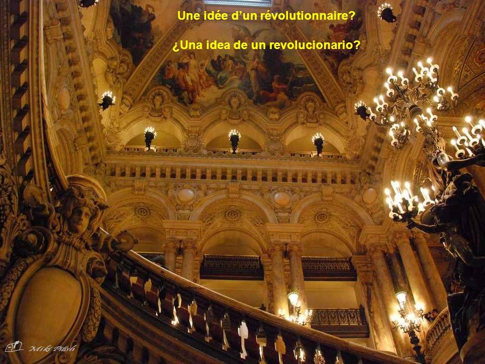 Une idée d'un révolutionnaire ¿Una idea de un revolucionario