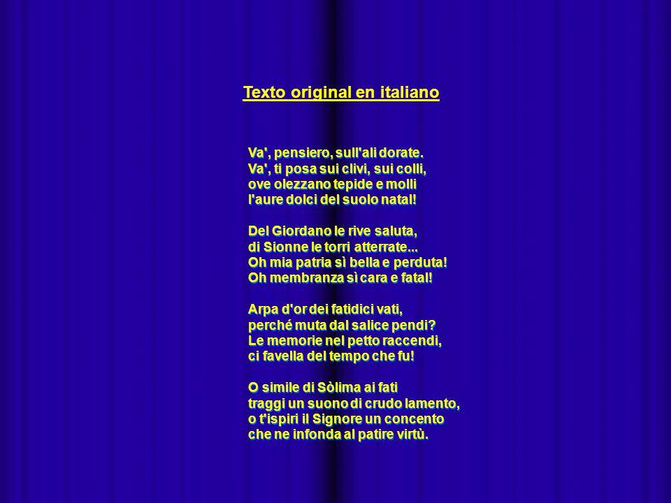 - Texto original en italiano