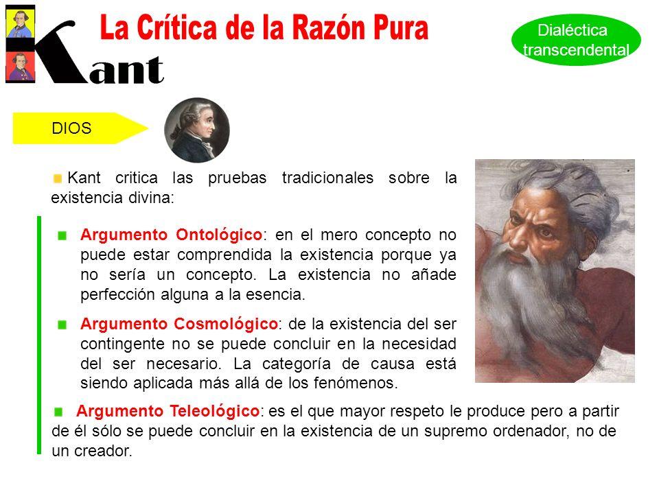 La Crítica de la Razón Pura