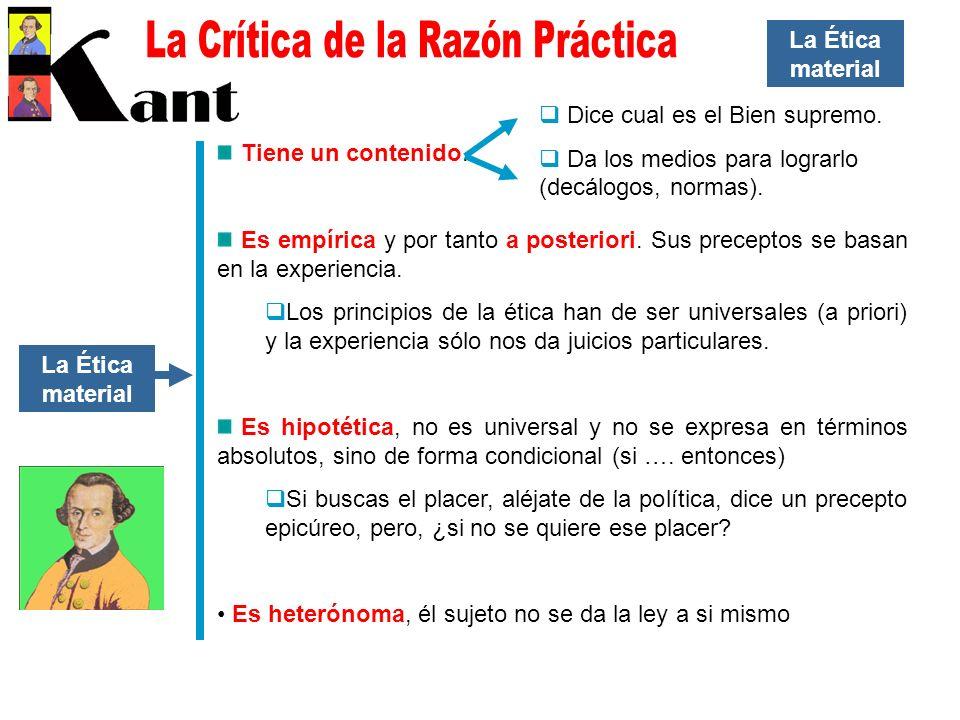 La Crítica de la Razón Práctica