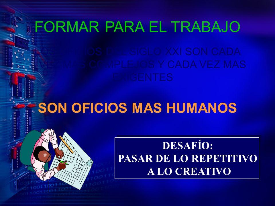 SON OFICIOS MAS HUMANOS