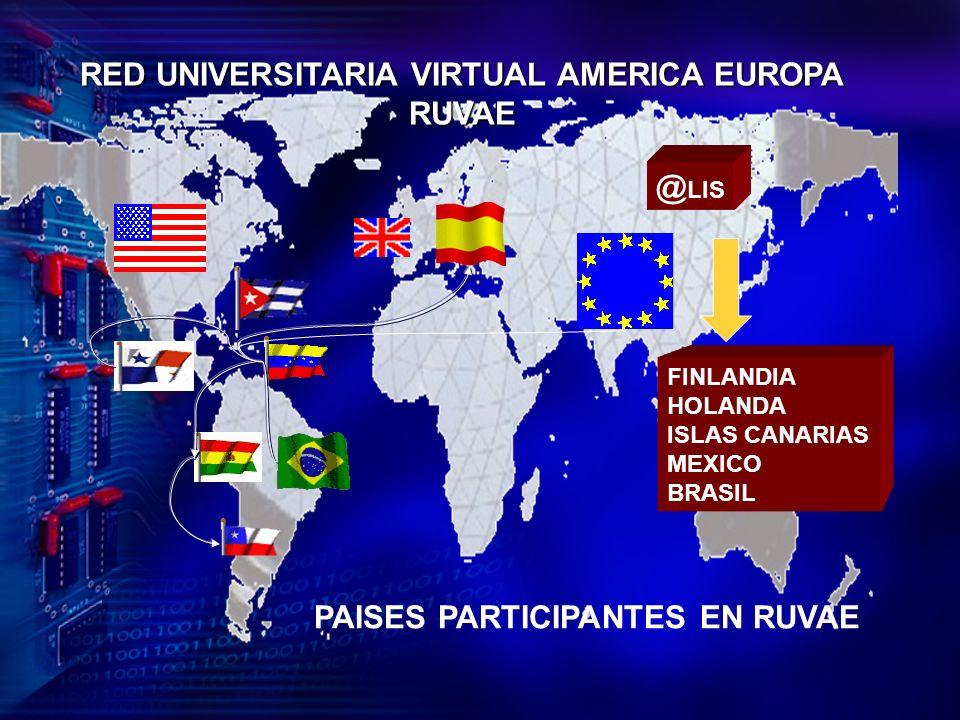 RED UNIVERSITARIA VIRTUAL AMERICA EUROPA
