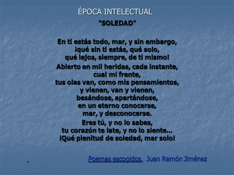 Poemas escogidos. Juan Ramón Jiménez