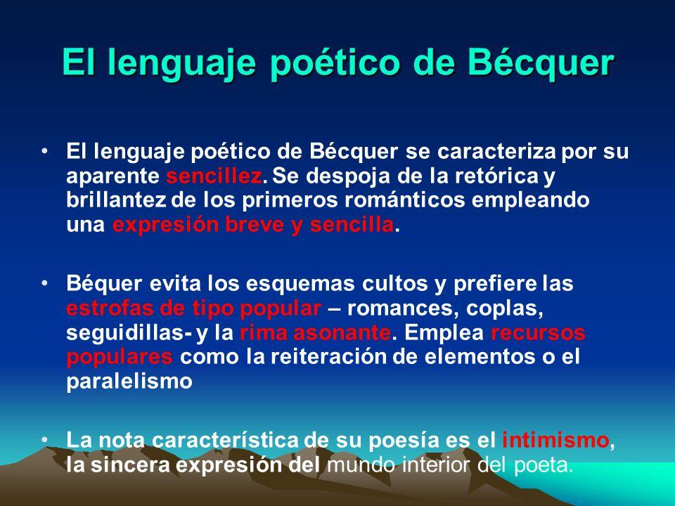 El lenguaje poético de Bécquer