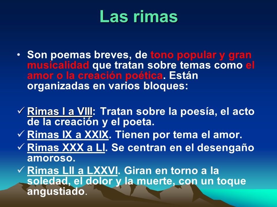 Rima xxx tono tema