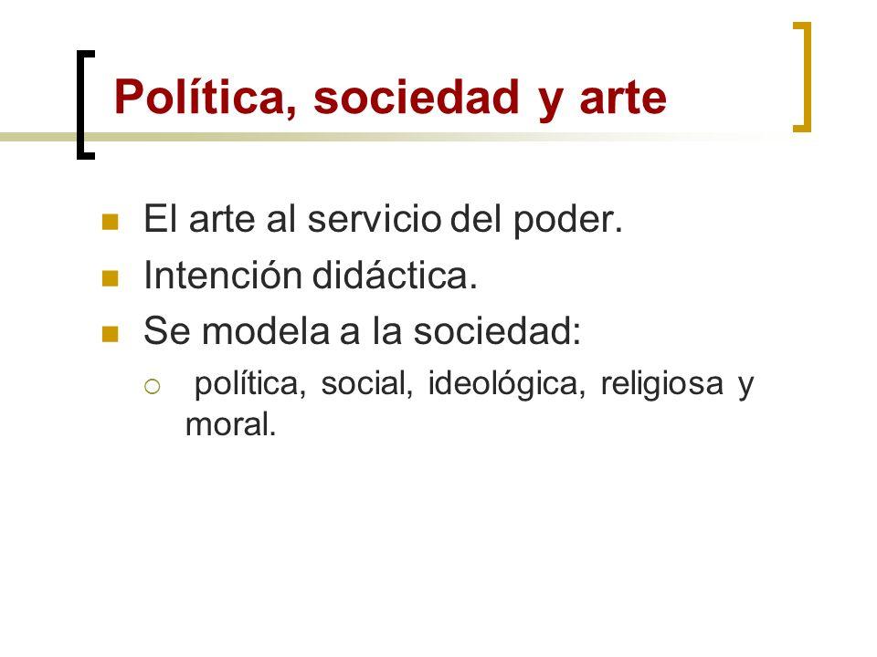 Política, sociedad y arte