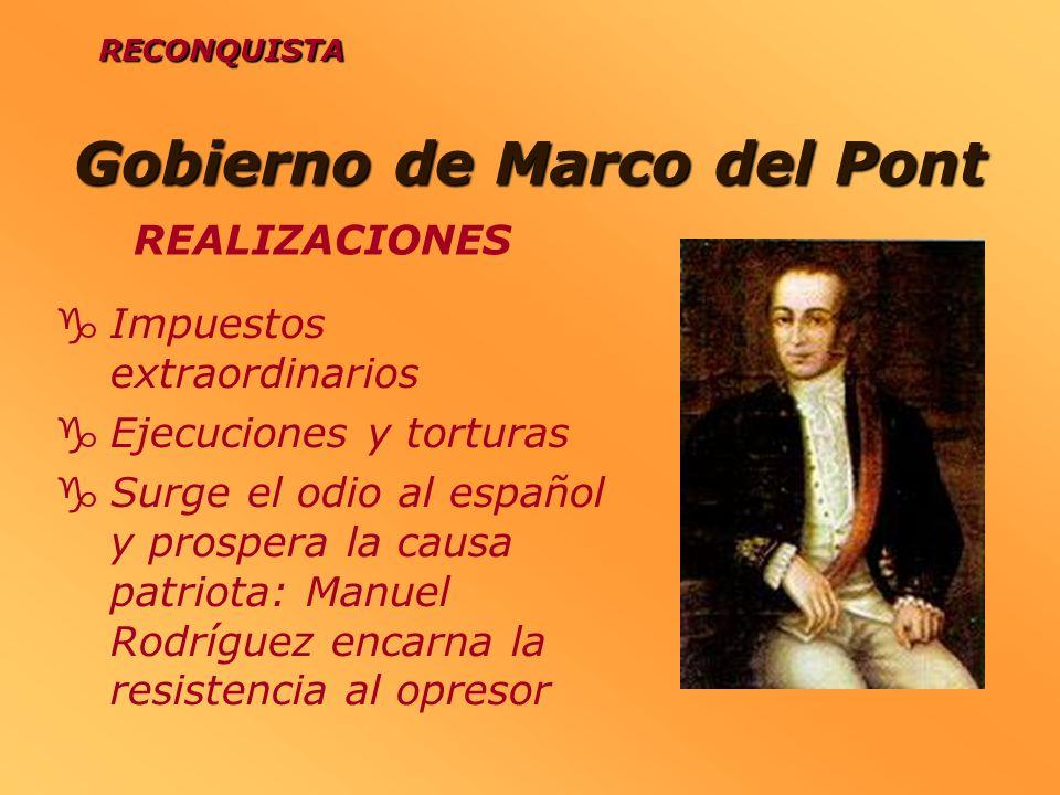 Gobierno de Marco del Pont