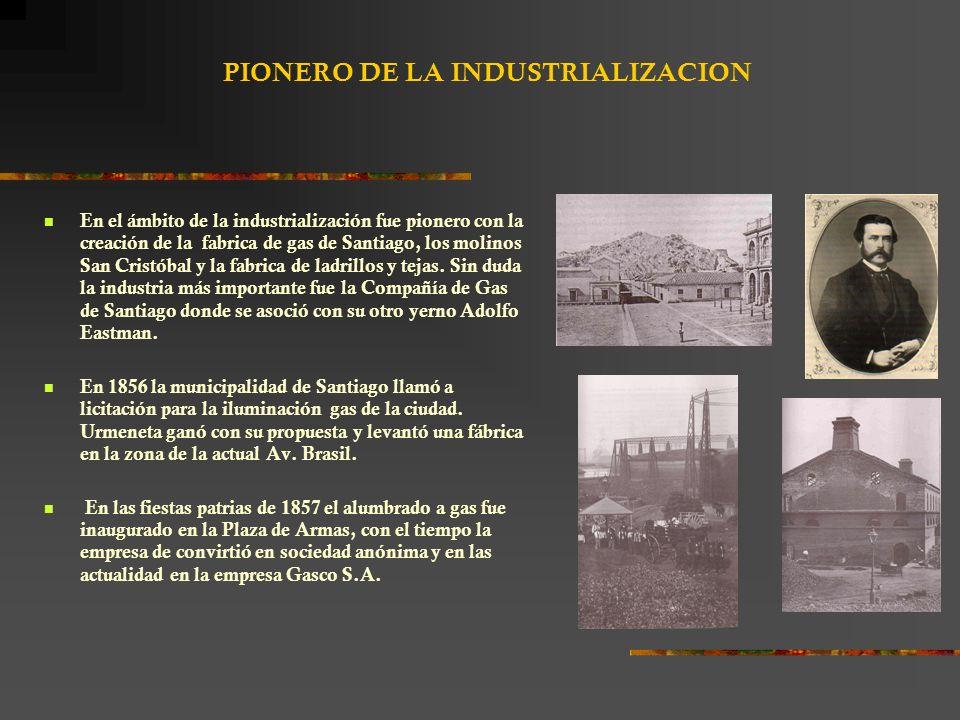 PIONERO DE LA INDUSTRIALIZACION