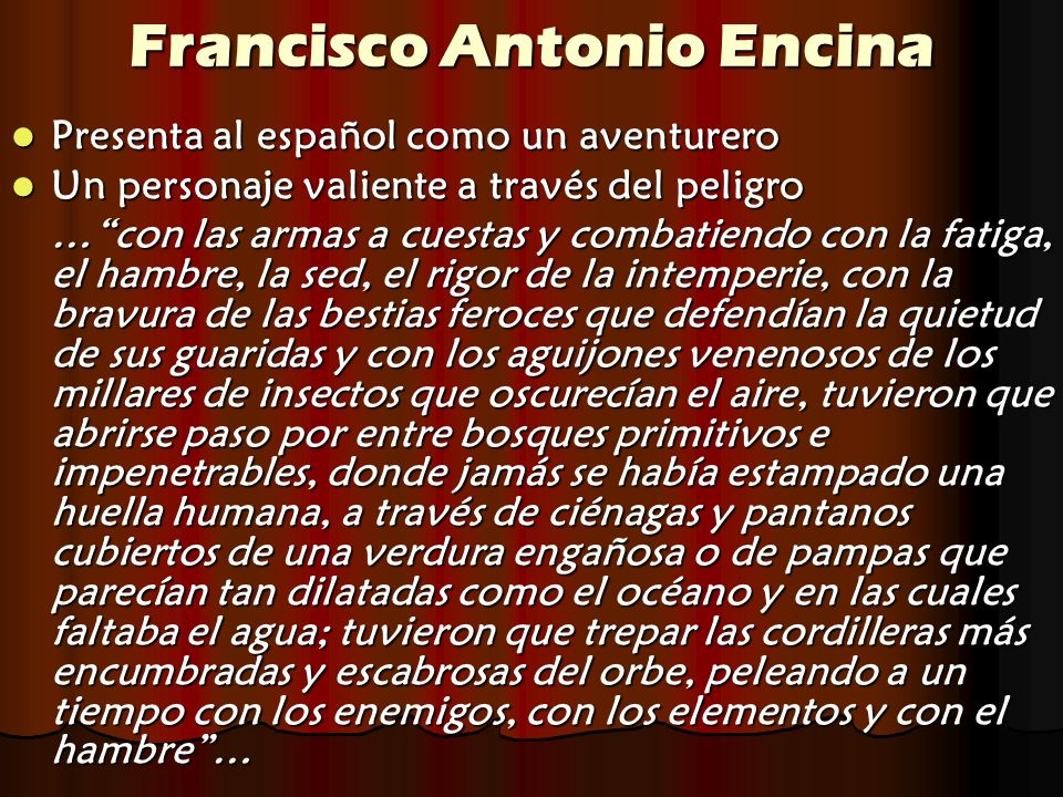 Francisco Antonio Encina