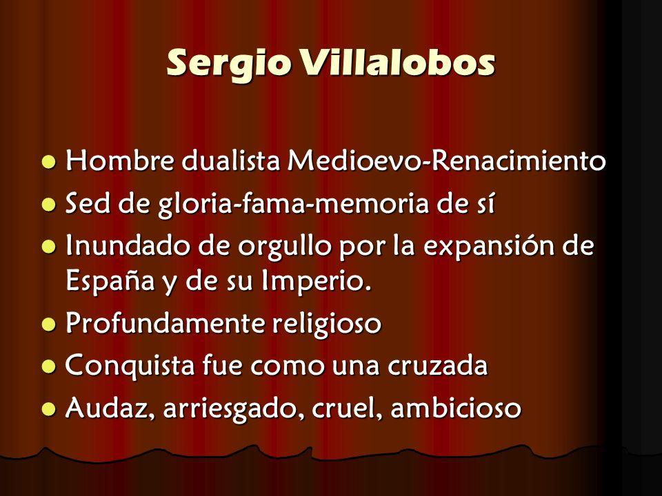 Sergio Villalobos Hombre dualista Medioevo-Renacimiento