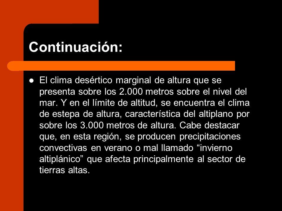 Continuación: