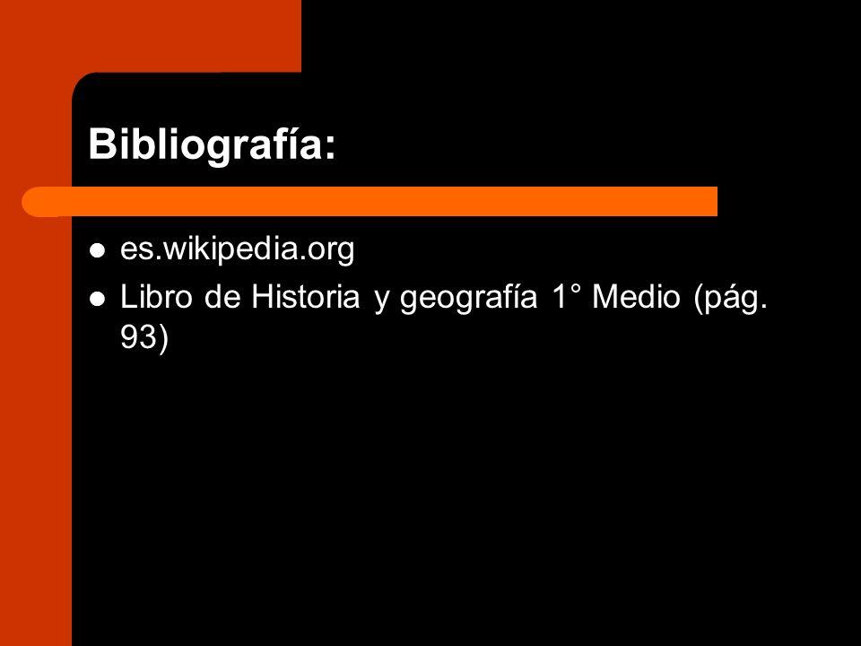 Bibliografía: es.wikipedia.org