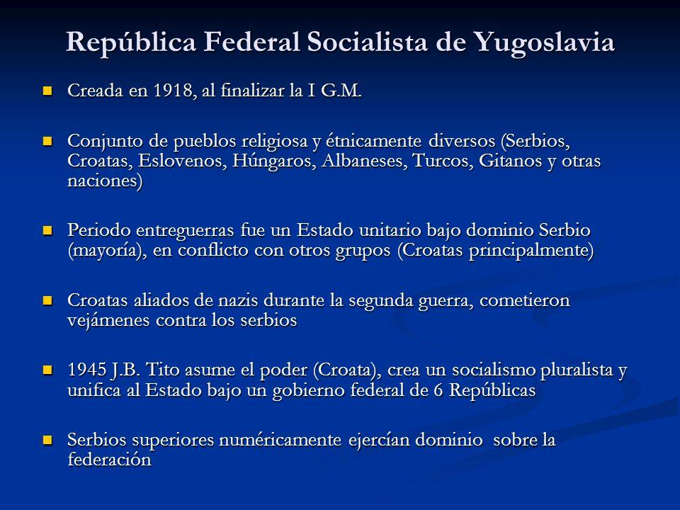 República Federal Socialista de Yugoslavia