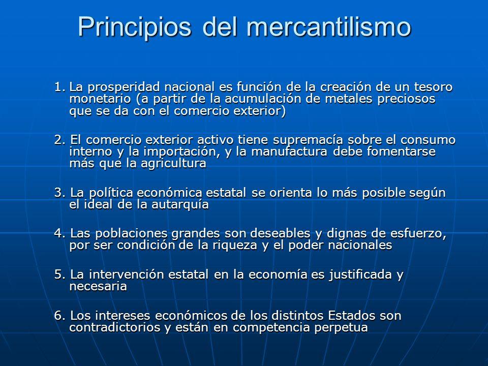 Principios del mercantilismo