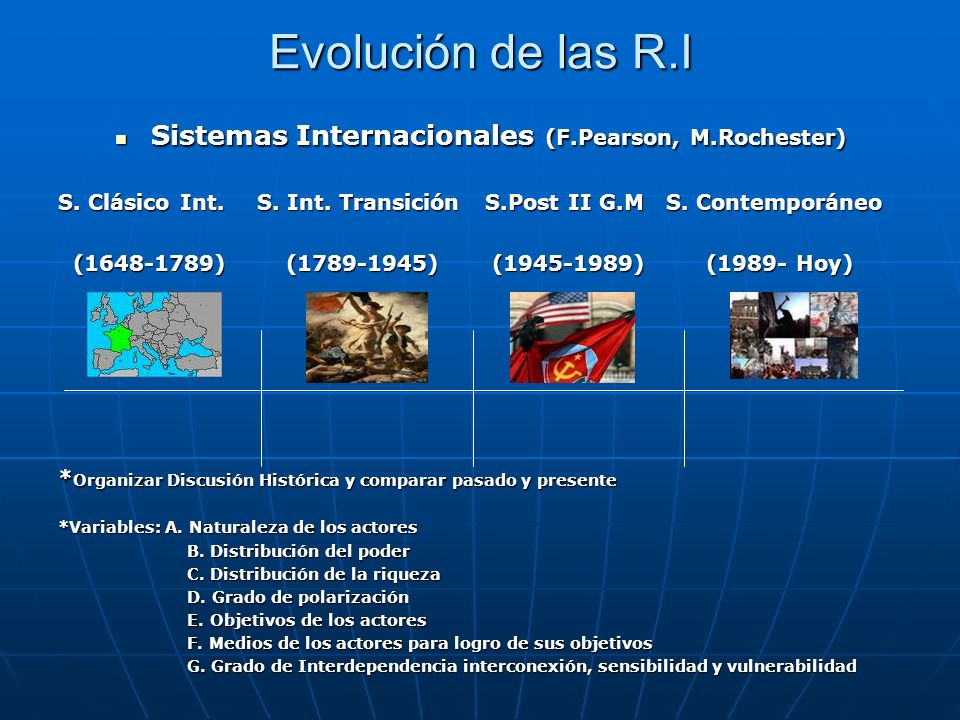 Sistemas Internacionales (F.Pearson, M.Rochester)