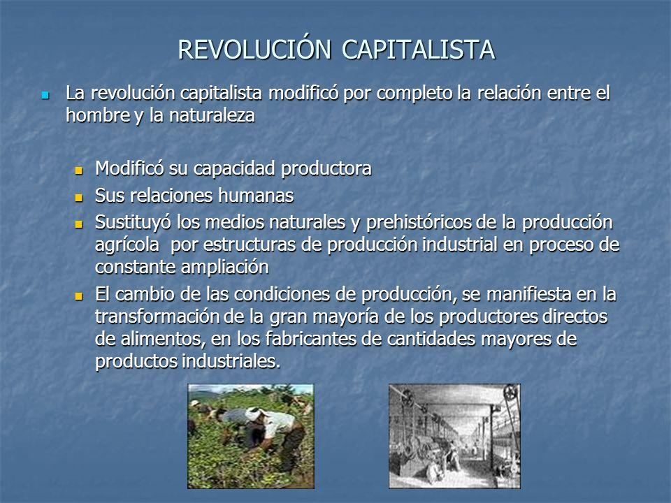 REVOLUCIÓN CAPITALISTA