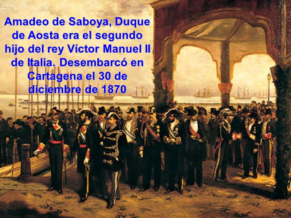 Amadeo de Saboya, Duque de Aosta era el segundo hijo del rey Víctor Manuel II de Italia.