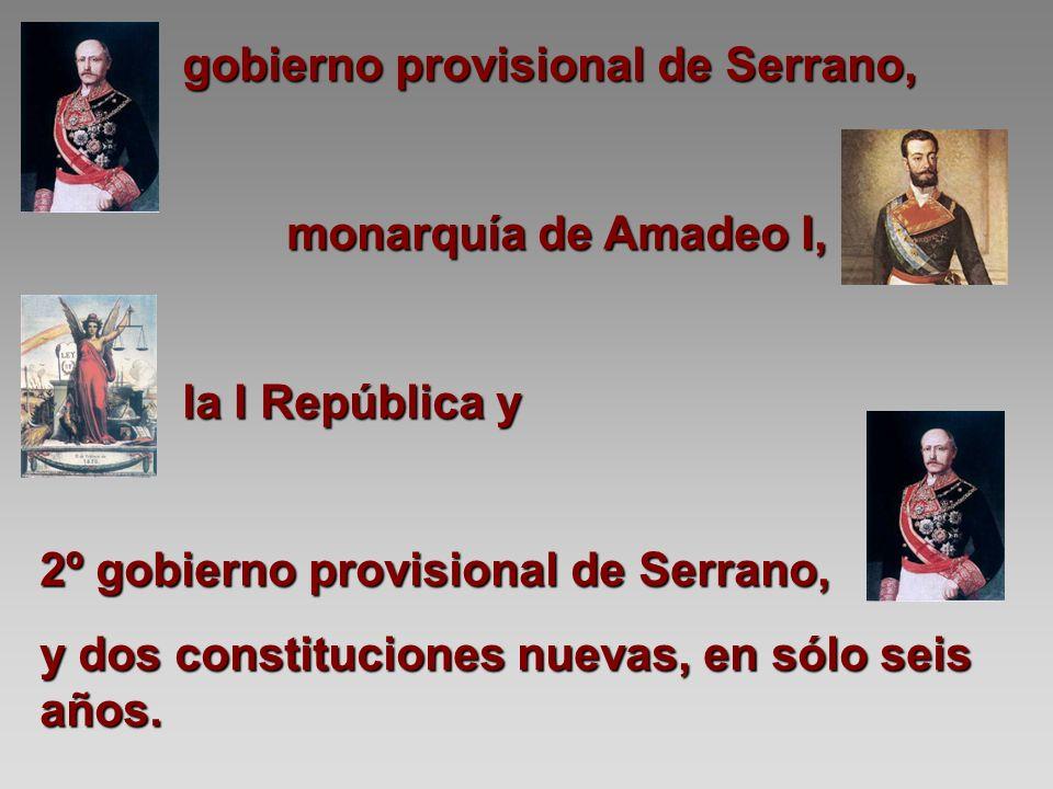 gobierno provisional de Serrano,