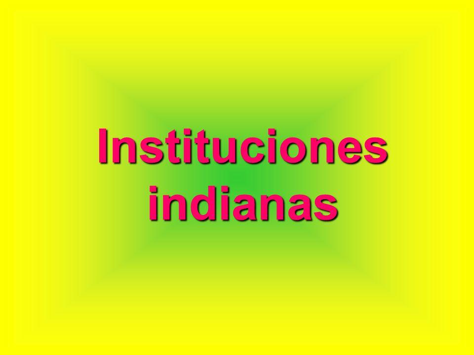 Instituciones indianas