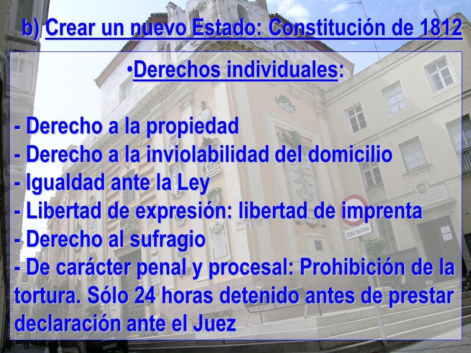 Derechos individuales: